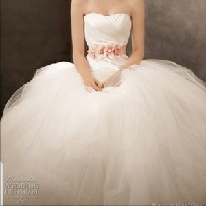 NWT Vera Wang White Wedding Ball Gown